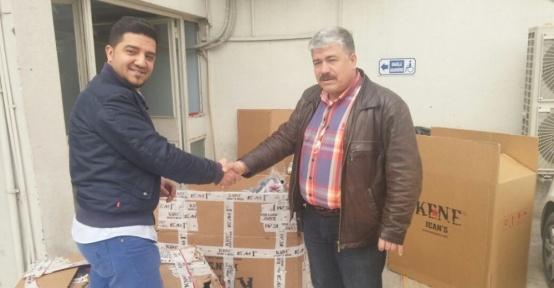 45 bin lira değerinde kumaş çalan hırsızlar yakalandı