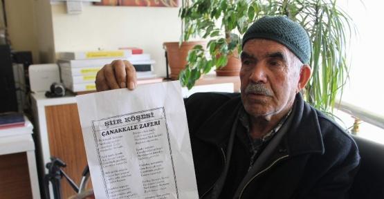 74 yıllık ömründe binin üzerinde şiir yazdı