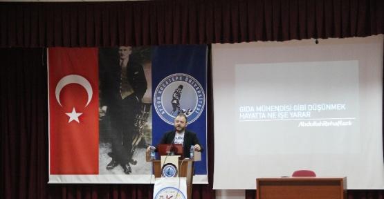 Abdullah Reha Nazlı: Kendi görevlerimizi mesleğimize yüklüyoruz