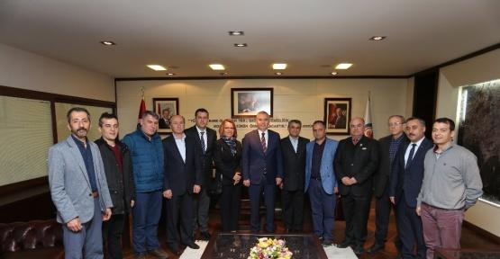 Acıpayam Dernekler Birliğinden Başkan Zolan'a ziyaret
