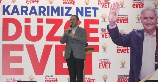 """Adalet Bakanı Bozdağ: """"CHP ile HDP gizli mutabakat içindeler"""""""
