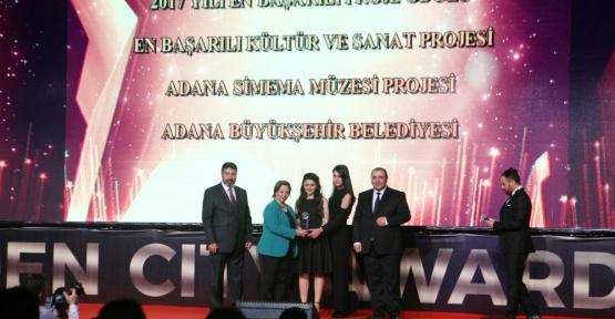 Adana Büyükşehir Belediyesine Kültür-Sanat ödülü