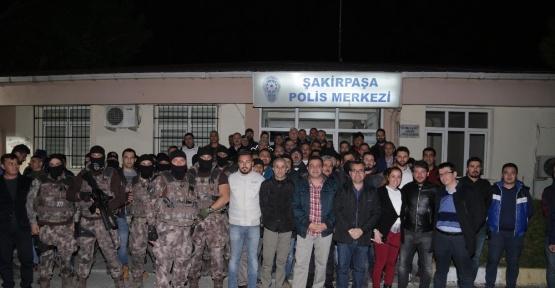 Adana'da bin polisle dev narko-terör operasyonu