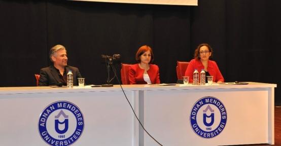 ADÜ'de Teknoloji Eğitim Konuşmaları seminerleri devam ediyor
