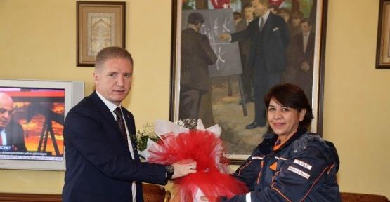 AFAD Sivas İl Müdürlüğünden, Vali Gül'e ziyaret