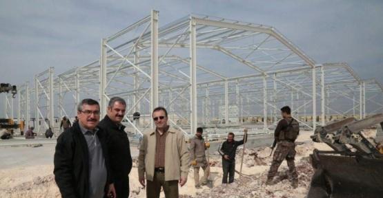 AFAD Suriye sınırına dev lojistik depo kuruyor