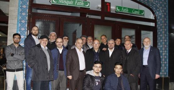 Afyonkarahisar Belediye Başkanı Çoban Brüksel'de Türk vatandaşlarıyla buluştu