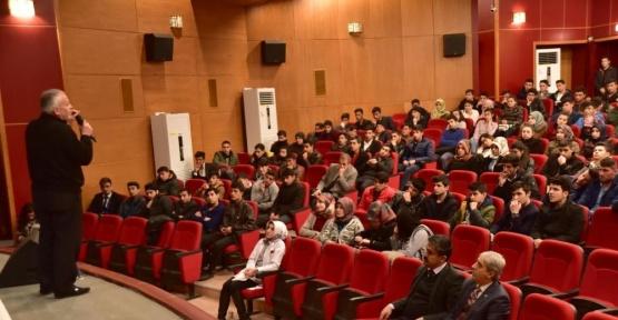 Ahlat'ta YGS'ye girecek öğrencilere seminer, son dakika
