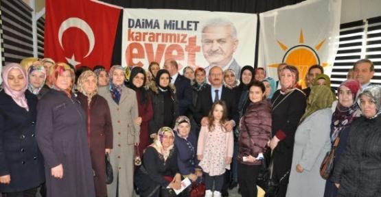 Ahmet Sorgun, Simav'da AK Partili kadınlara seslendi