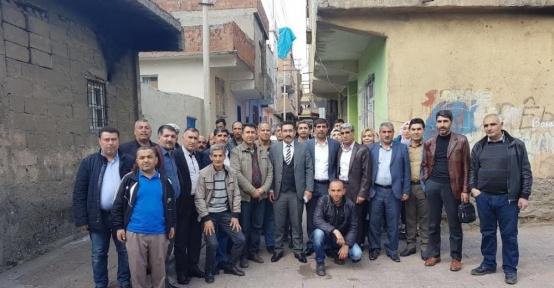 AK Parti Bağlar ilçe teşkilatı aralıksız çalışmalarını sürdürüyor
