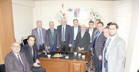 AK Parti Erzurum İl Teşkilatından STK'lara ziyaret