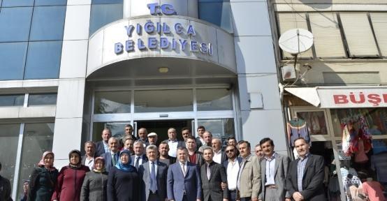 AK Parti İl Başkanı Keskin Yığılca Belediye Başkanı Yiğit'i ziyaret etti
