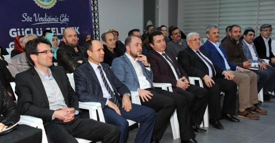 AK Parti İstişare Toplantısında Anayasa değişikliği anlatıldı