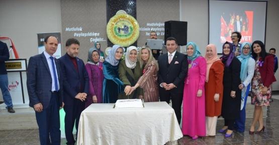 AK Parti Kadın Kolları 8 Mart Dünya Kadınlar Gününü kutladı