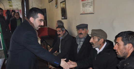 AK Parti Kars'ta referandum çalışmalarını sürdürüyor