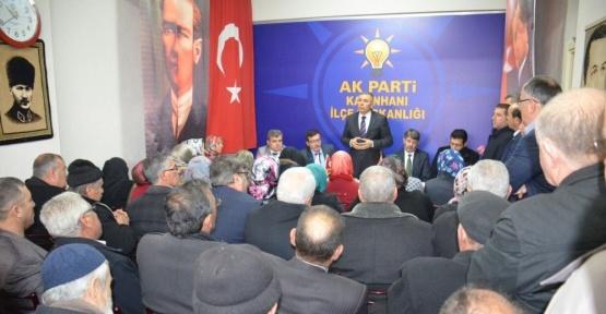 AK Parti Konya İl Başkanı Arat'tan beş ilçeye ziyaret
