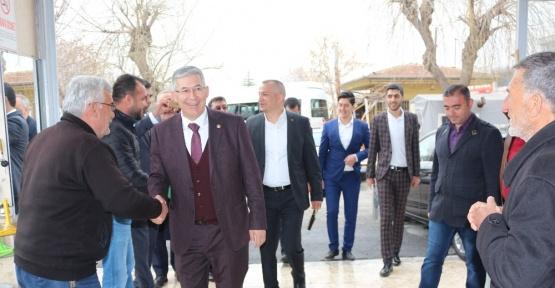 AK Parti Konya İl Başkanlığı referandum için saha çalışmalarını sürdürüyor