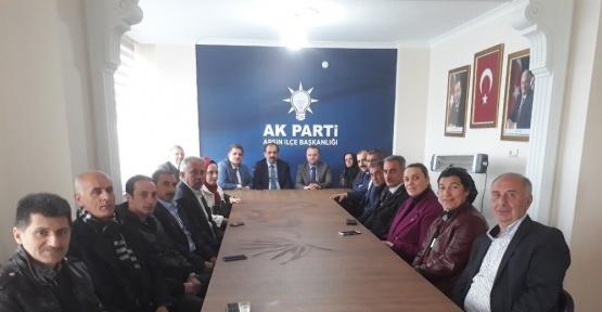 AK Parti Milletvekili Balta referandum gezilerini Arsin'de sürdürüyor