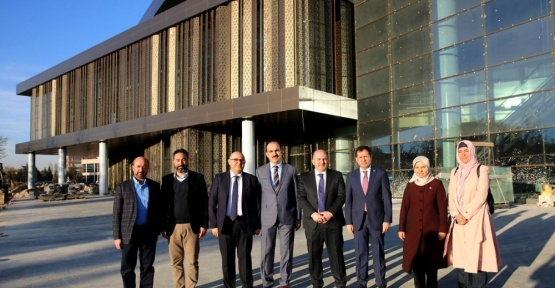 AK Parti Milletvekillerinden SOBE ve Selçuklu Kongre Merkezine ziyaret