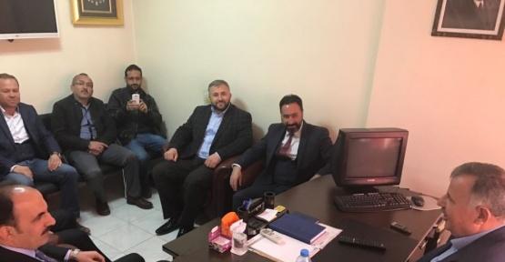 AK Parti Selçuklu Teşkilatından İnşaatçılar Odasına ziyaret