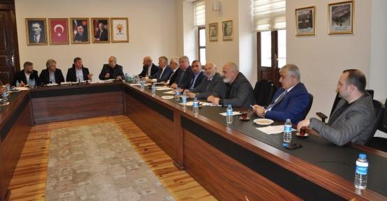 AK Parti Trabzon SKM ve İlçe Başkanları Toplantısı