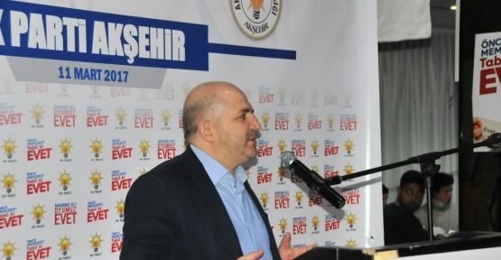 AK Partili Baloğlu, Akşehir'de referandum çalışmalarına katıldı