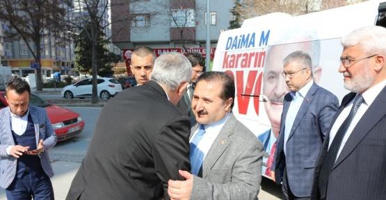 """AK Parti'li Özdemir: """"Konya'yı en yüksek oranda 'evet' oyu veren il olarak göreceğiz"""""""