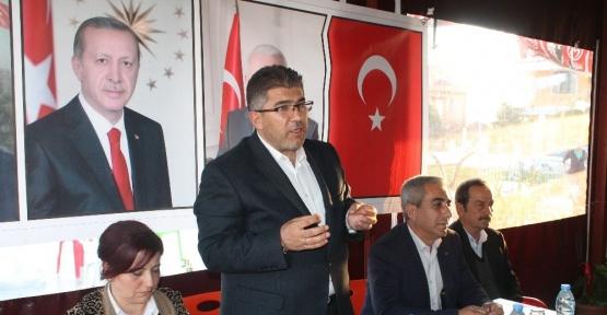 AK Parti'li Öztürk, Dalaman'da vatandaşlar ile bir araya geldi