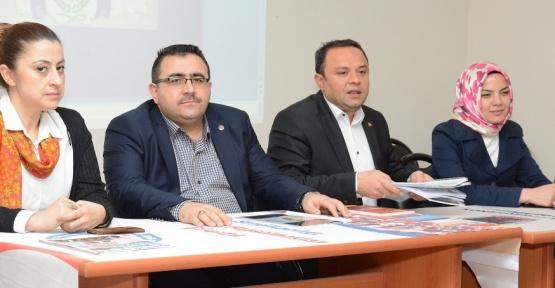 Aksaray AK Parti heyeti öğretmenlerle buluştu