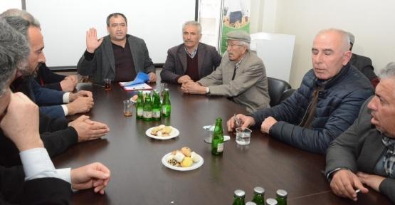 Aksaray'da pancar üretim sorunları masaya yatırıldı