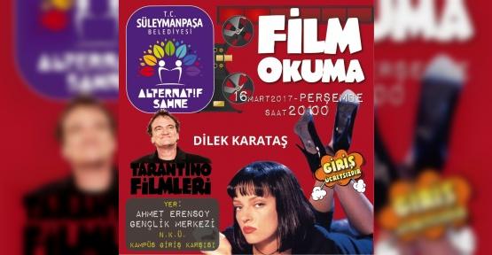 Alternatif Sahne'de 'Tarantino' rüzgarı esecek