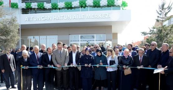 Altuncan Hatun Aile Yaşam Merkezi açıldı