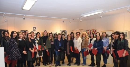 Anadolu Üniversitesi'nde Kadınlar Günü Sergisi