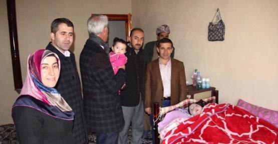 Ankaralı iş adamından Şemdinlili çocuğa destek