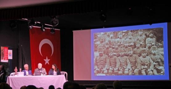 Antalya'da işgalci savaş gemisinin batırılışının 99. yılı kutlandı