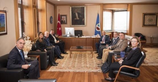 Askeri Fabrikalar Genel Müdürlüğünden Anadolu Üniversitesine iş birliği ziyareti