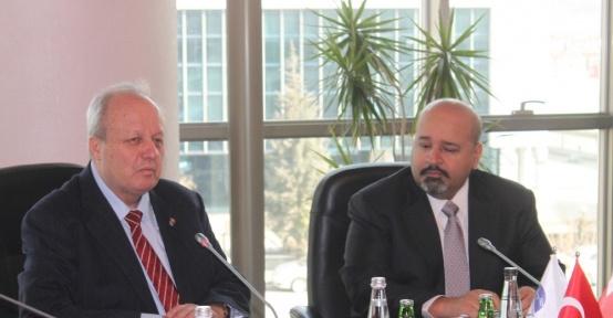 """ASO Başkanı Özdebir: """"Bahreyn ile ticaret hacminin artırılması lazım"""""""