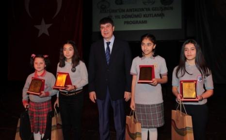 Atatürk'ün Antalya'ya Gelişinin 87. Yılı Kutlandı