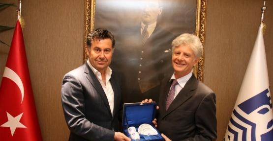 Avusturya Büyükelçisi'nden Başkan Kocadon'a ziyaret