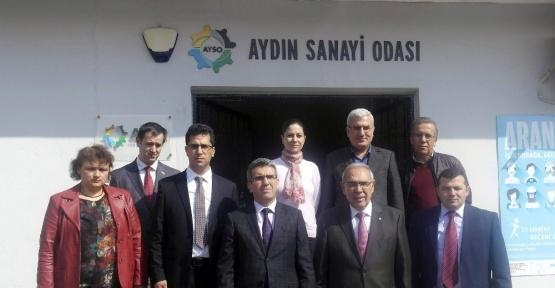 Aydın Vergi Dairesinden AYSO'ya Vergi Haftası ziyareti