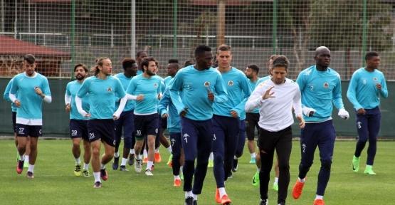 Aytemiz Alanyaspor, Bursaspor maçı hazırlıklarını sürdürdü