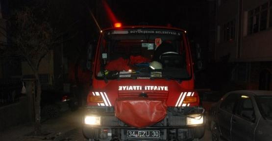 Bahçelievler'de şüpheli ölüm. Metruk binada yanmış erkek cesedi bulundu