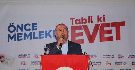 Bakan Çavuşoğlu'ndan Manavgat'a müjde