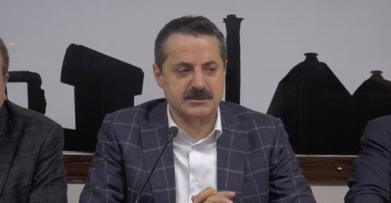 Bakan Çelik, Şanlıurfa'da referandum startını verdi