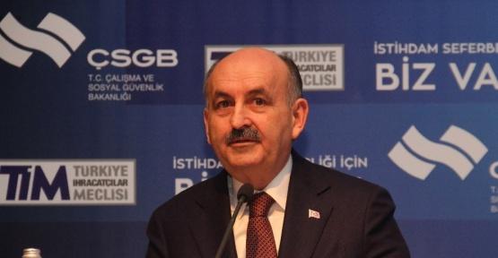 """Bakan Müezzinoğlu: """"2017 Aralık sonunda işsizlik, yüzde 10'ların altına inecek"""""""