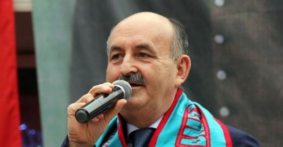 """Bakan Müezzinoğlu: """"Adında 'halk' olan parti halkla yürüyemiyor"""""""