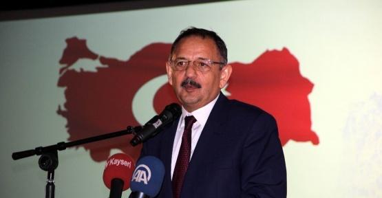 Bakan Özhaseki, Nevşehir'de vergi rekortmenleri ödül törenine katıldı