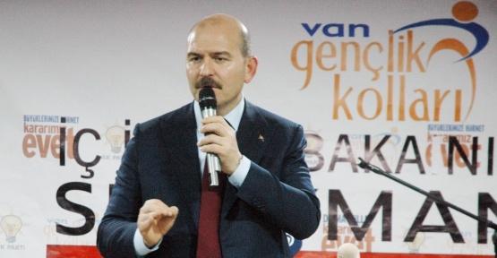 """Bakan Soylu: """"16 Nisan sadece 18 maddenin oylamasıyla ilgili değil, bir medeniyetin kararıdır"""""""