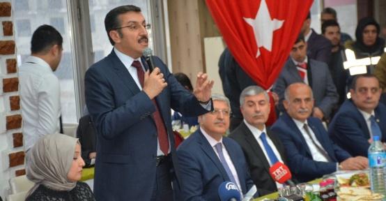 """Bakan Tüfenkci: """"Her şey bir 'one minute' ile başladı"""""""
