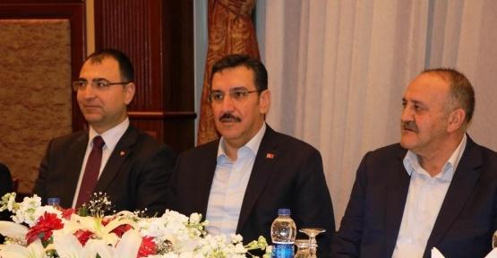 Bakan Tüfenkci sivil toplum kuruluşları ile bir araya geldi